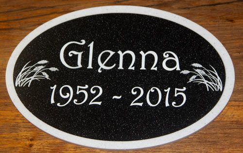 Two Tone Engraved Corian Plaque - Large Sizes| The Sign Maker Shop